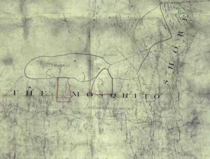 Map Of Miskit Shore